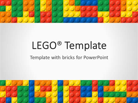 lego card templates lego powerpoint template