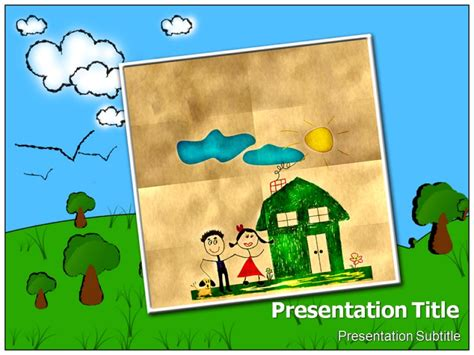 Ppt Wallpaper For Children Wallpapersafari Free Powerpoint Templates For Children
