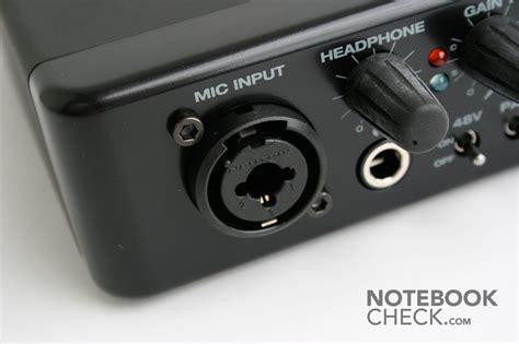xlr eingang test terratec dmx 6fire usb soundkarte notebookcheck