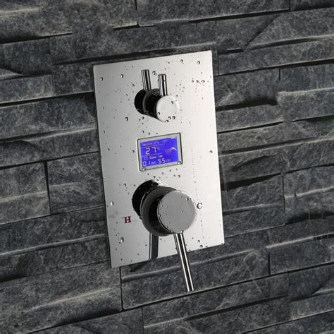 Digital Mixer Shower by Digital Shower Mixer With Display Thermostatic Shower
