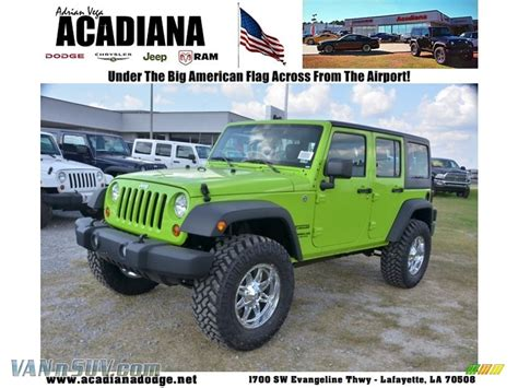 gecko green jeep for sale new 2013 gecko green jeep unlimited for sale autos post