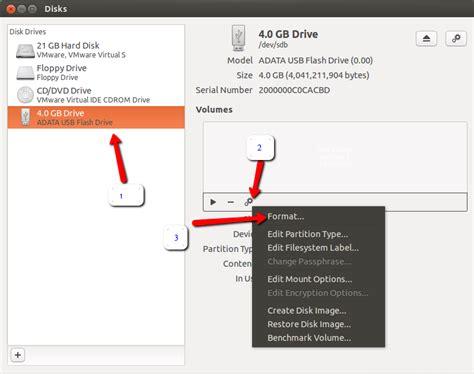 format external hard drive kubuntu how to format a usb or external drive ask ubuntu
