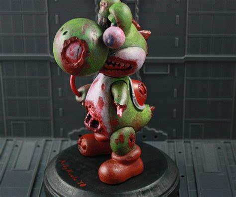 yoshi  zombie mario left  dead