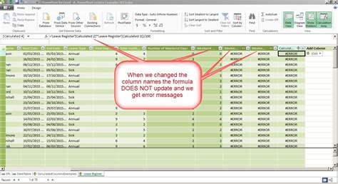 change table name difference between powerpivot and excel use auditexcel co za