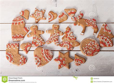 Cookies Handmade - cookies and handmade retro toys stock photo