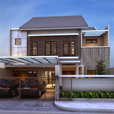 desain depan rumah bali bali agung property kumpulan desain fasad rumah minimalis