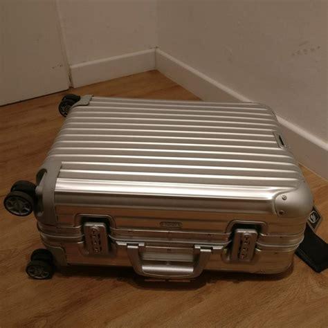 rimowa cabin review koffer rimowa topas cabin multiwheel