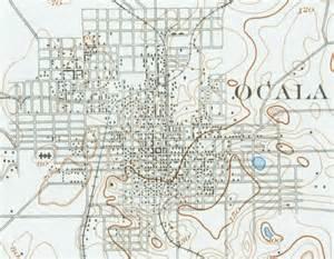map of ocala 1895 florida