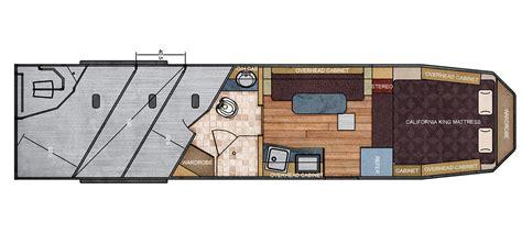 wide trailers floor plans 8 ft wide 11 215 15 living quarter trailer floor plan