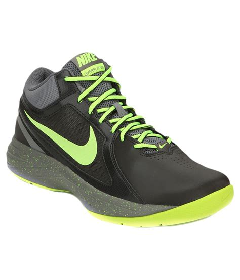 leather sports shoes nike black synthetic leather sports shoes price in india