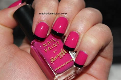 easy nail art black and pink simple pink and black nail art nail art ideas