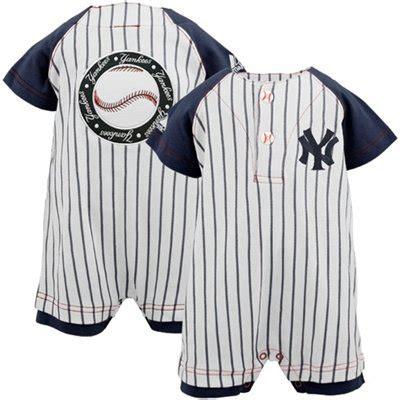 Romper Baseball new york yankees baby baseball romper