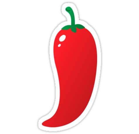 Chili Pepper Home Decor by Quot Red Chili Pepper Jalapeno Sticker Quot Stickers By Mhea