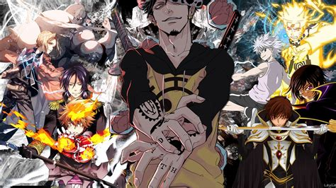 wallpaper anime crossover crossover full hd wallpaper and background image