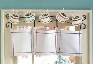 Coffee Cup Kitchen Curtains Coffee Curtains For Kitchen