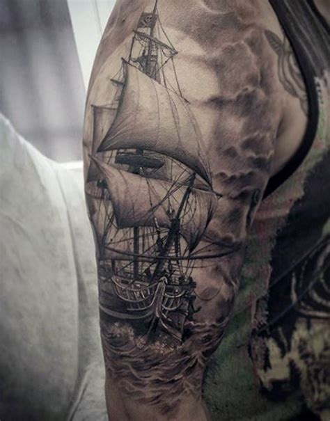 ship tattoo ship ideas for a sea of sailor designs intended
