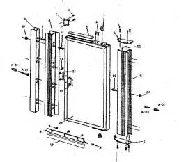 shower glass door parts glass shower door replacement parts unnamed parts