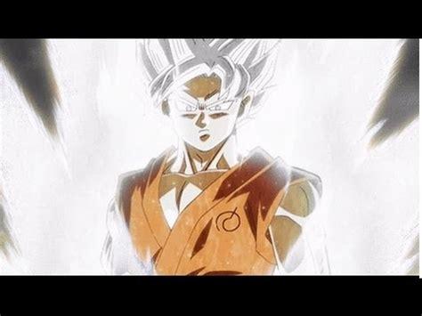 imagenes de goku blanco goku super saiyajin blanco hablemos un poco youtube