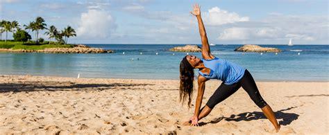Teh Fitne fitness and wellness aulani hawaii resorts spa