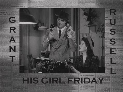 themes in his girl friday classic movie wallpaper images at reel classics movies h hi