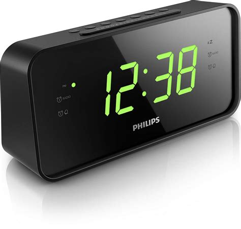 Alarm Clock Philips large number alarm clock radio unique alarm clock