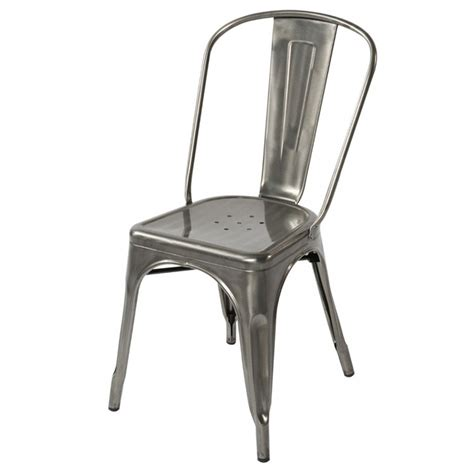 tolix metal chairs tolix style metal industrial loft designer cafe chair in