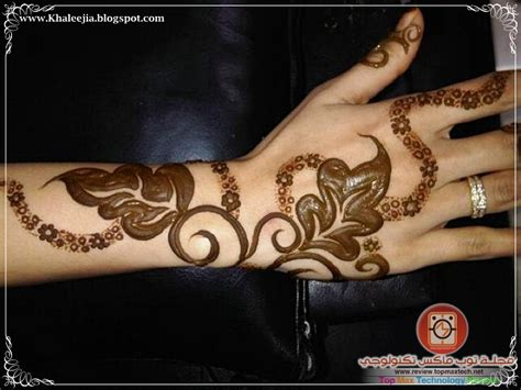 Emirates Henna Design Our Mind | إليك أروع نقوش الحناء 2014للصبايا رقيق وناعم2015 مجلة