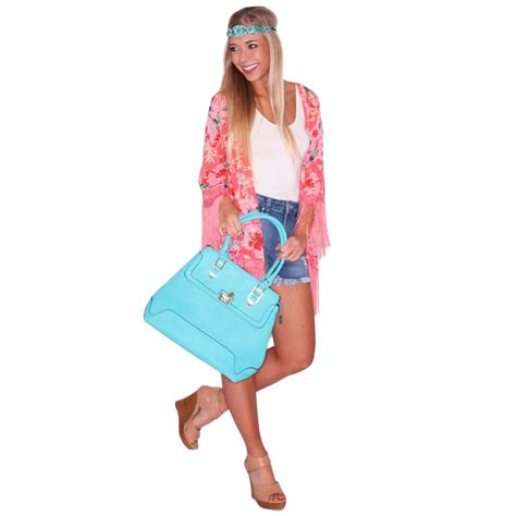 1428mb Pink Inlove travel kimono in pink impressions boutique