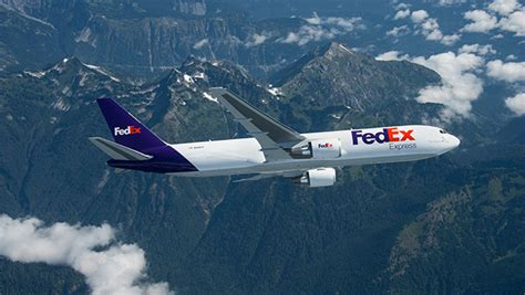 fedex express orders  boeing   aircraft