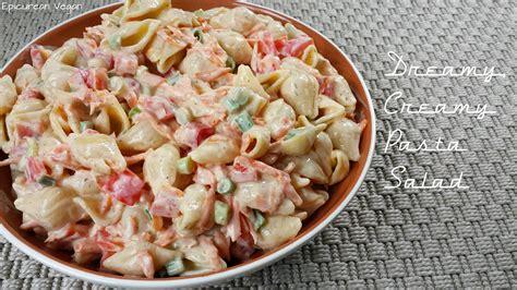 creamy pasta salad recipe dreamy creamy pasta salad
