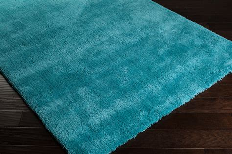 aqua shag rug district17 heaven shag rug in aqua shag rugs solid rugs