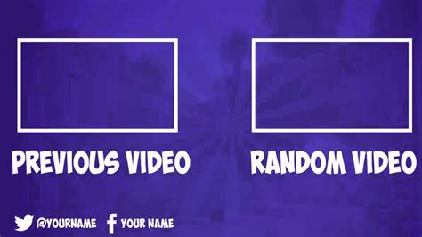 youtube outro template free related keywords youtube