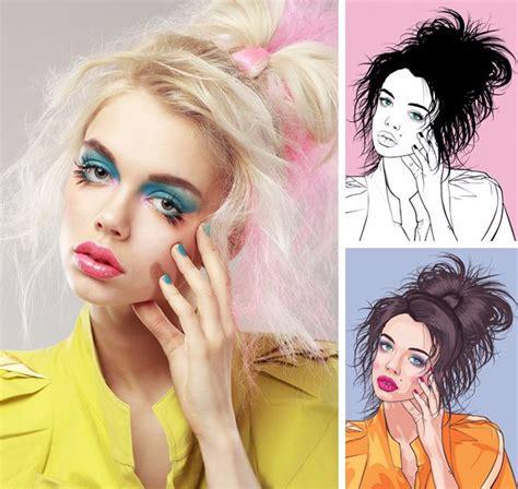 tutorial menggambar wajah wanita 7 tutorial membuat vektor wajah dengan illustrator