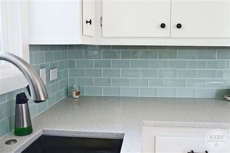 blue glass tile kitchen backsplash blue sea glass tile kitchen backsplash fres hoom