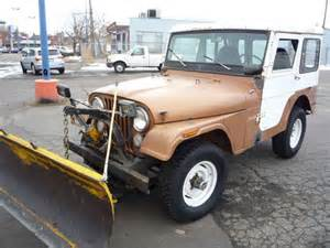 Plow Jeep Sell Used 1973 Jeep Cj5 With Snow Plow Starts And Runs