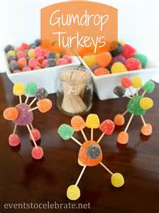 what should i make for thanksgiving thanksgiving crafts for kids gumdrop turkeys events to