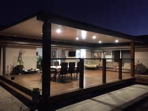 Outdoor Carport Lighting In Style Patios And Decks Our Work Patios Pergolas