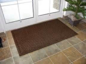 Entrance Mats For Homes Elite Rubber Backed Door Mats