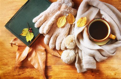 coffee autumn wallpaper photos leaf autumn coffee cup food book