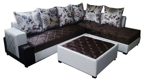 henri l shape sofa set center table furniture
