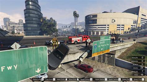 mod gta 5 map editor bridge car crash map editor gta5 mods com