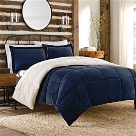 The Seasons Collection Comforter by Buy The Seasons Collection 174 Reversible King Flannel