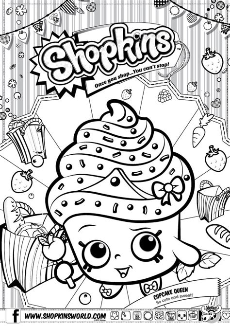 shopkins coloring pages birthday shopkins coloring pages