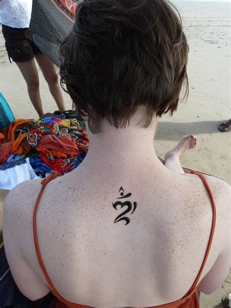om henna tattoo a henna balinese om tattooed balinese