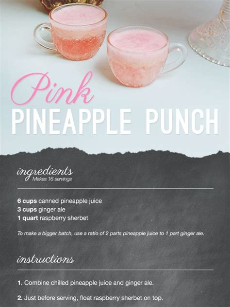 pink punch recipe for wedding shower 25 best ideas about pink chagne punch on