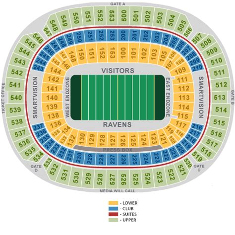 mt bank stadium seating chart baltimore ravens football festival april 27 tickets