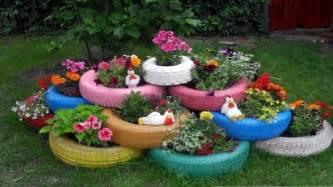 Car Tyres For Garden
