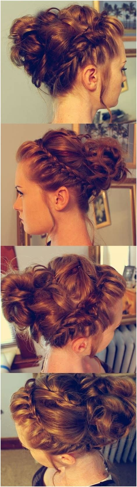 cheap xmas bun ideas 15 braided bun updos ideas popular haircuts