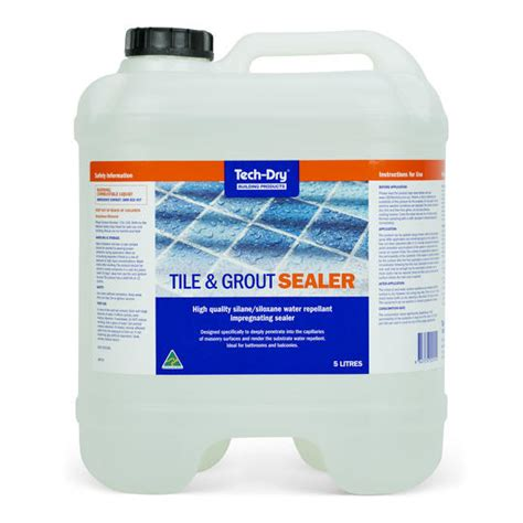 tile sealer grout sealer tech dry