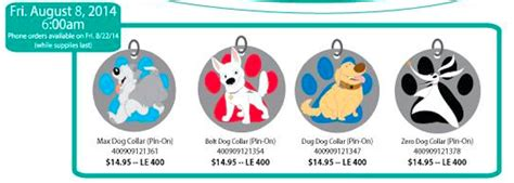 s day releases 2014 disney s studio store august 2014 pin releases